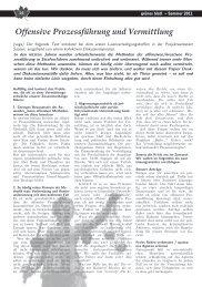 grünes blatt 2/2011, S. 24-25 - Projektwerkstatt
