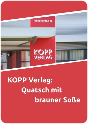 Broschüre: KOPP-Verlag - Linksunten Indymedia