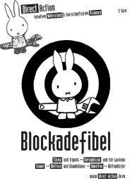 Blockadefibel - Projektwerkstatt