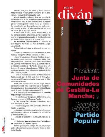 Dª. María Dolores de Copedal - Revista DINTEL Alta Dirección