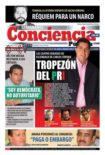Gabriel Ibarra Bourjac - Semanario Conciencia Pública