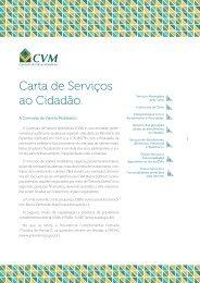 Carta de Serviços ao Cidadão.