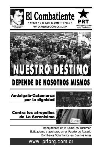 El Combatiente - Partido Revolucionario de los Trabajadores
