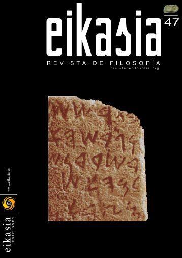47 - EIKASIA - Revista de Filosofía