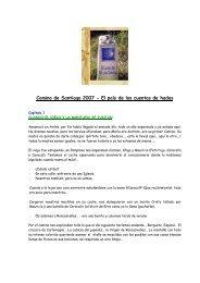 El pais de los cuentos de hadas - Camino de Santiago