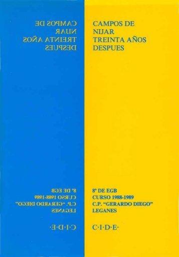 Campos de Nijar, 30 años después - Bibliotecas Públicas