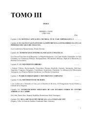 La Formación Semicolonial l 1890-1930 - Universidad de Chile
