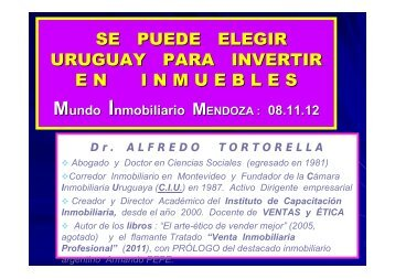 2 7 Tortorella.pdf - Mundo Inmobiliario