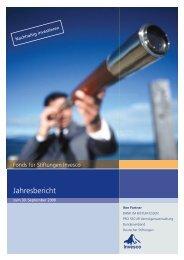 Jahresbericht - pro Secur