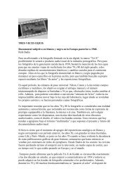 TRES VECES EQUIS Documental subjetivo en ... - CFD Barcelona