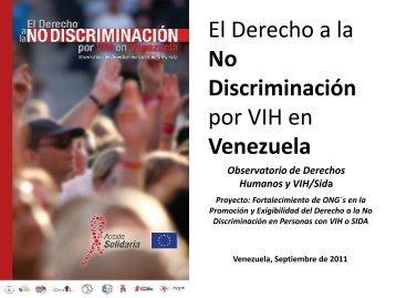 El derecho a la no discriminación de las personas con VIH en ...