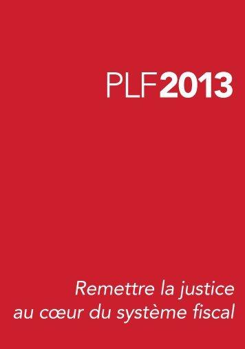 projet-loi-finances-2013-plf-dispositions-fiscales