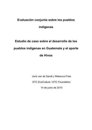 Estudio de caso de Guatemala 140610 traducido del ingles ... - Hivos