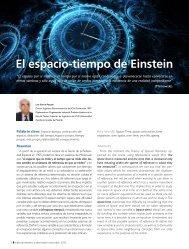 El espacio-tiempo de Einstein - Revista-anales.es
