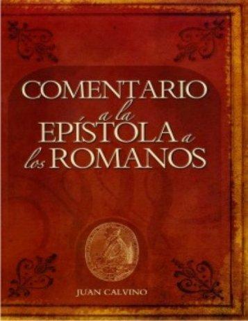 Romanos de Juan Calvino