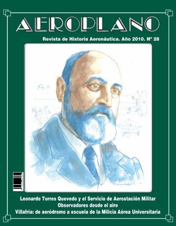 revista aeroplano nº 28. año 2010 - Portal de Cultura de Defensa ...