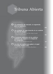 las asimetrías del mercado, un argumento para ... - Cáritas Española