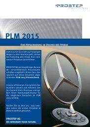 PLM 2015-Flyer - Prostep AG