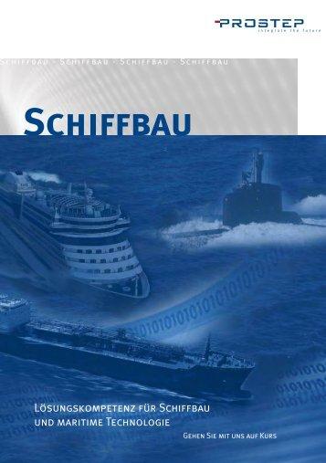 Broschüre Schiffbau