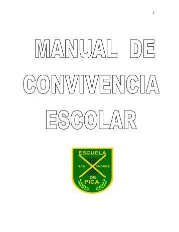 MANUAL DE CONVIVENCIA ESCOLAR - San Andrés de Pica