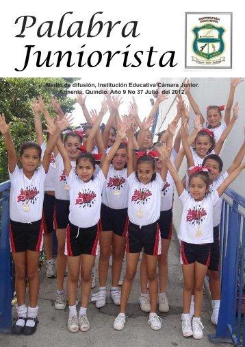 Tercera Edición 2012 PALABRA JUNIORISTA_Maquetación 1