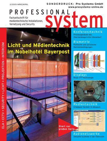 Dorint Hotel Bayerpost, München - Prosystems.eu