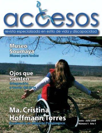Entrevista a ma. Cristina Hoffmann Torres - Revista Accesos