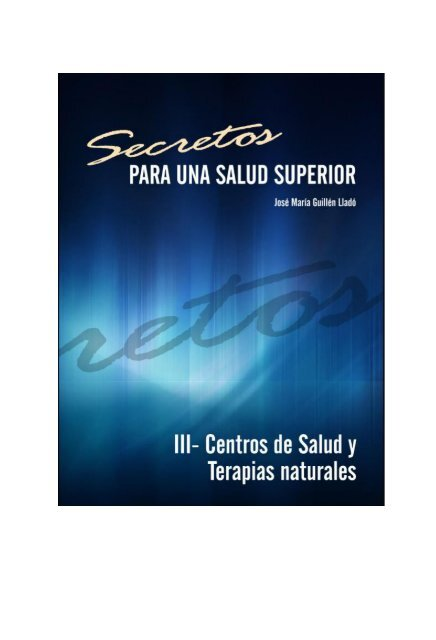 Abril 2013 - Secretos para una salud superior - Angeles Prol Coaching