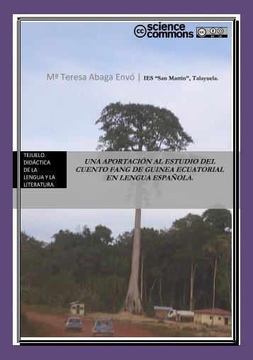 una aportación al estudio del cuento fang de ... - Nuestro Centro