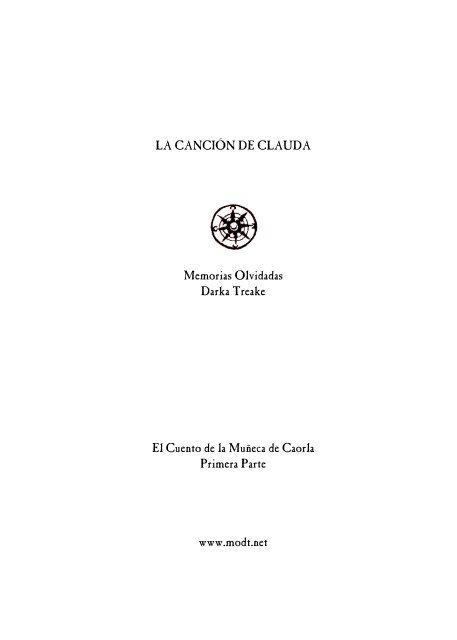 La Cancion de Clauda - La Leyenda de Golöel