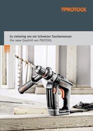 Prospekt QuaDrill (PDF) - Protool GmbH