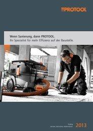 Wenn Sanierung, dann PROTOOL. Ihr Spezialist für ... - Protool GmbH