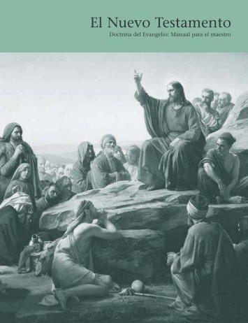 Doctrina del Evangelio: Manual para el maestro - The Ansbach ...