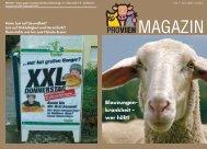 Blauzungen- krankheit – wer hilft? - Verein gegen tierquälerische ...