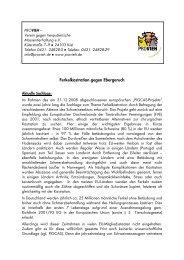 Merkblatt - Verein gegen tierquälerische Massentierhaltung eV
