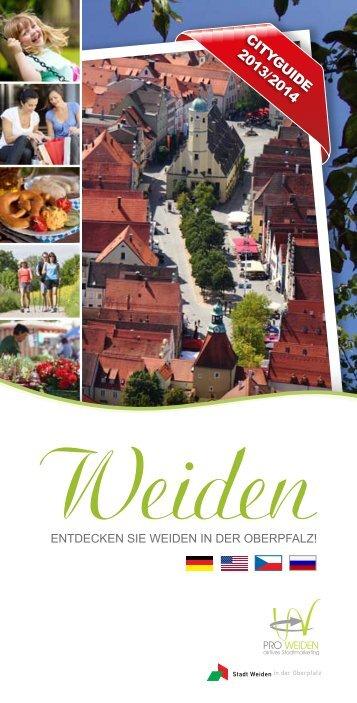 Weidener Cityguide 2013/2014 - Pro Weiden e.V.