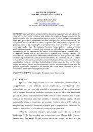 O COOPERATIVISMO: UMA BREVE REFLEXÃO TEÓRICA Luciano ...