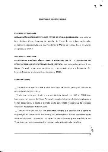 Protocolo CASES/OCPLP