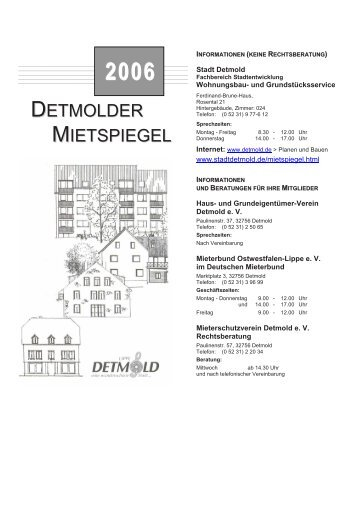 Detmold - Pro Wohnen Hamburg