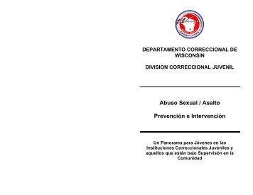 asalta sexualmente a un(a) - Wisconsin Department of Corrections