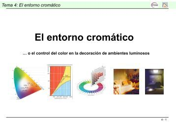 Tema 4: El entorno cromático - RUA