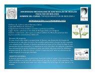 Introducción a la Cronobiología - Facultad de Biología - Universidad ...