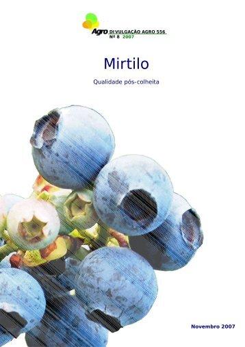 Mirtilo - Qualidade pós-colheita - INRB