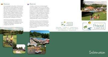 Information - Prümtal Camping und Köhler Stuben