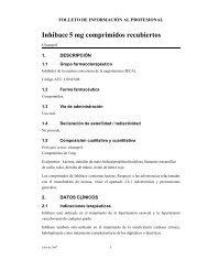 Folleto Médico Inhibace 5 mg - Roche