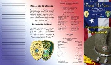 Declaración de Objetivos Declaración de Metas - Miami-Dade Portal