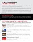 Folleto – Corporativo y Lista de Productos - Southwest Microwave, Inc. - Page 2