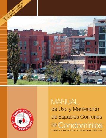 Manual Condominio - Cámara Chilena de la Construcción