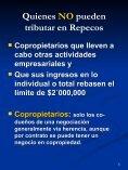 Quienes NO pueden tributar en Repecos - FEyRI - Page 5