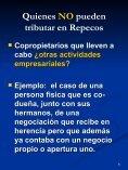 Quienes NO pueden tributar en Repecos - FEyRI - Page 6